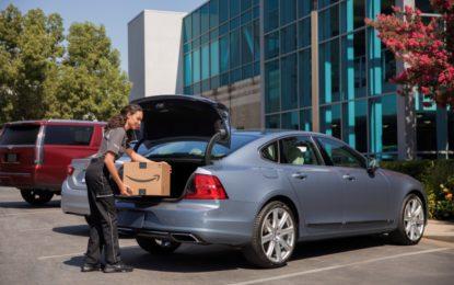 Con Volvo e Amazon consegna a bordo. Ma negli USA