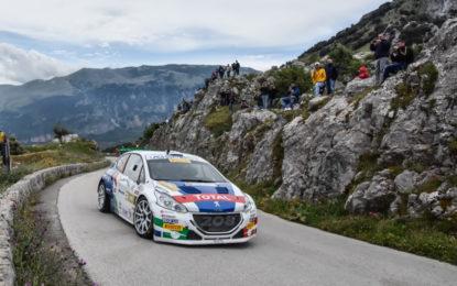 CIR: Andreucci e Peugeot 2° al Targa Florio, primi in campionato