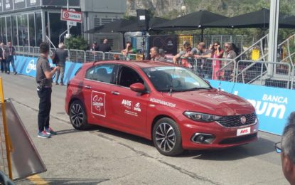 Avis Autonoleggio partner del Giro d'Italia 2018