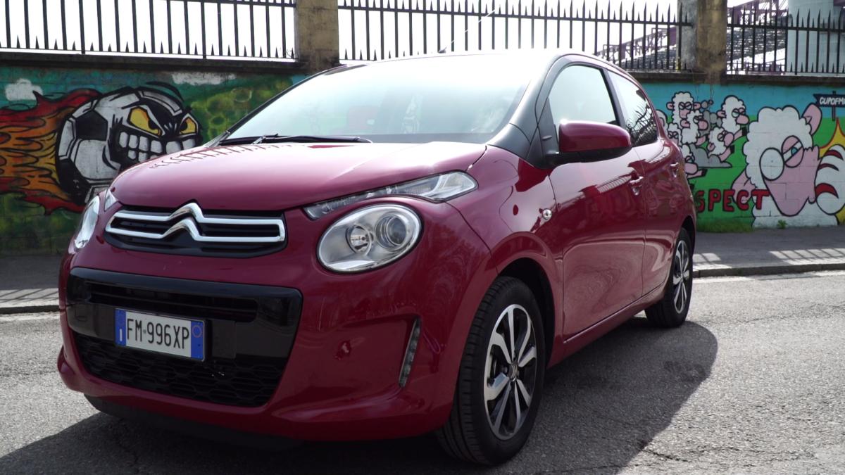 Citroën C1: tecnologica, connessa e urban-style