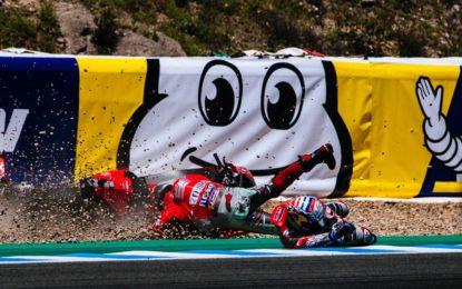 Jerez: la delusione di Dovizioso