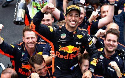 Monaco si inchina a Ricciardo, davanti a Vettel e Hamilton