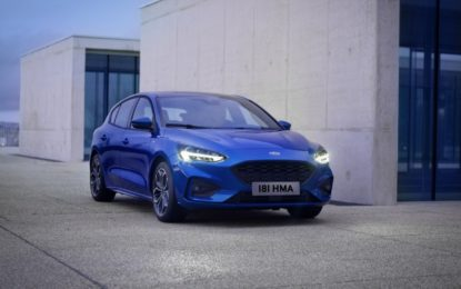 Ford Focus in anteprima nazionale a Company Car Drive