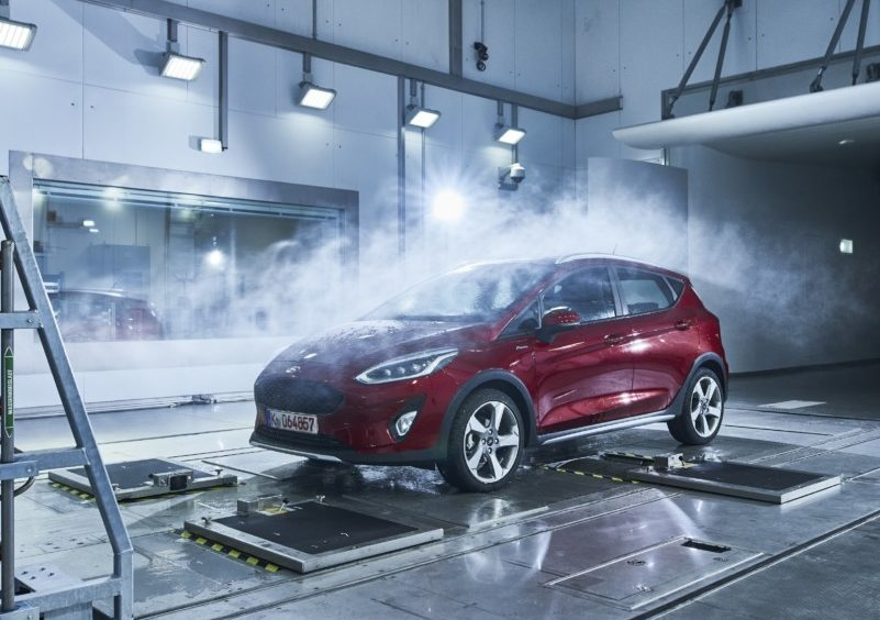 Ford Weather Factory: simulazione ambientale