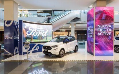 Ford tra la gente, negli shopping center