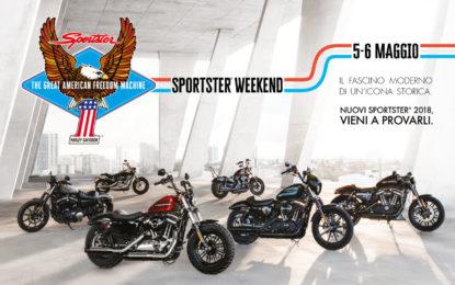 Harley-Davidson presenta lo Sportster Weekend