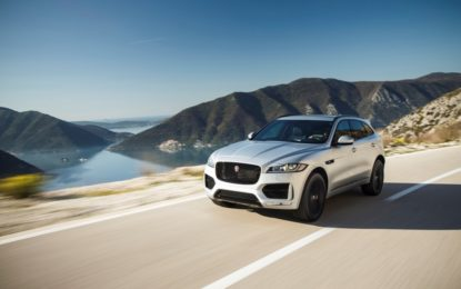 Jaguar F-PACE 19 Model Year