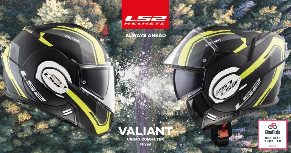 LS2 Helmets fornitore ufficiale Giro d'Italia