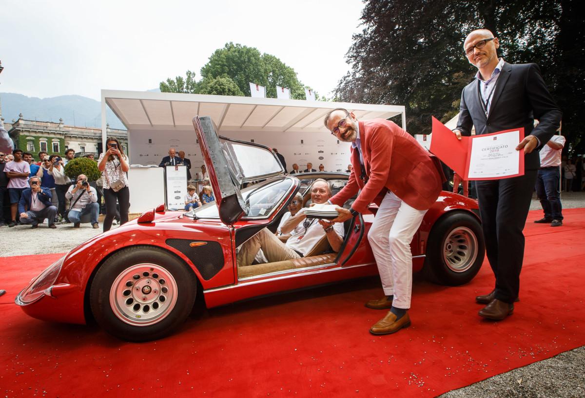 Trofeo BMW Group Italia all'Alfa 33/2 Stradale