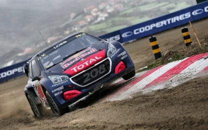Rallycross: Peugeot all'attacco in Belgio