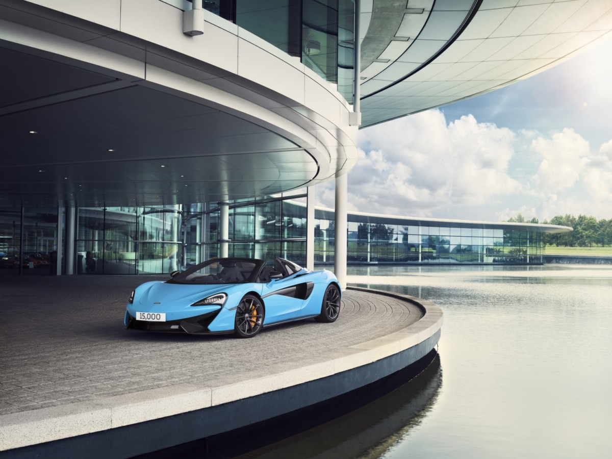 McLaren Automotive a quota 15.000 vetture prodotte