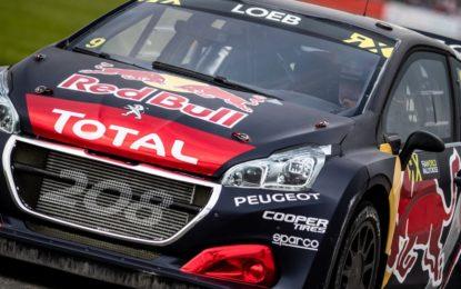 WRX: a Silverstone nuovo podio per Loeb e Peugeot