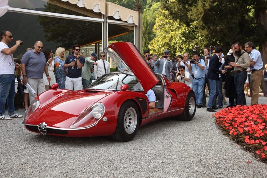 Villa d'Este: all'Alfa Romeo 33/2 Stradale la Coppa d'Oro