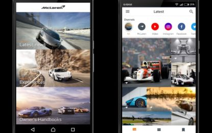 McLaren Automotive lancia l'App McLaren Mobile