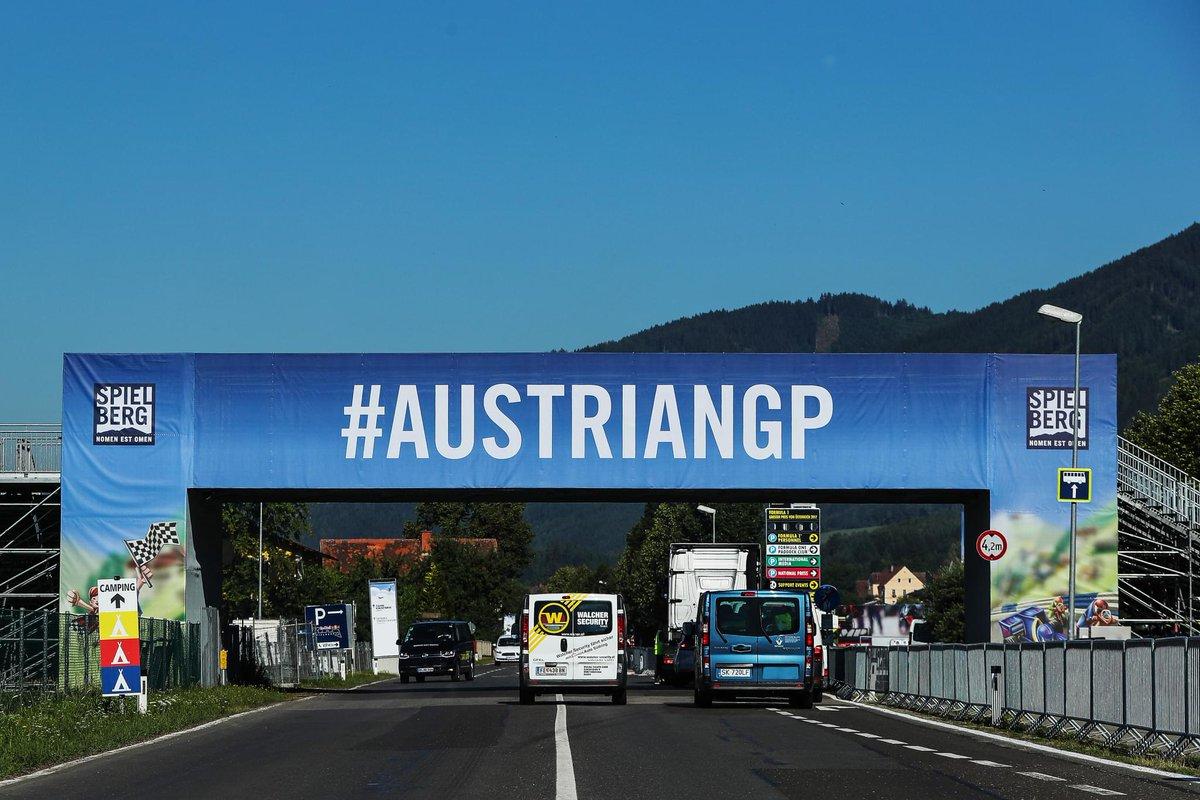 GP Austria: set e mescole obbligatori