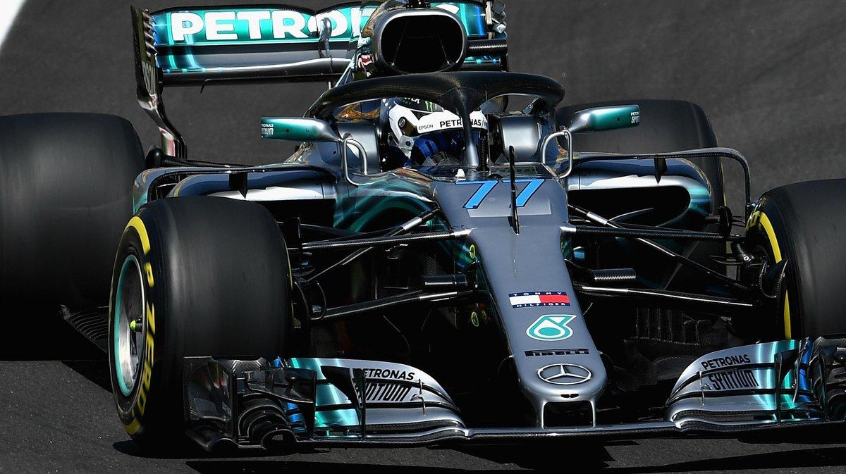 Spagna: nelle FP1 Bottas-Hamilton, terzo Vettel