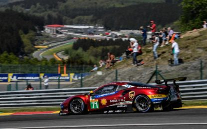 WEC: Rigon e Bird terzi a Spa-Francorchamps