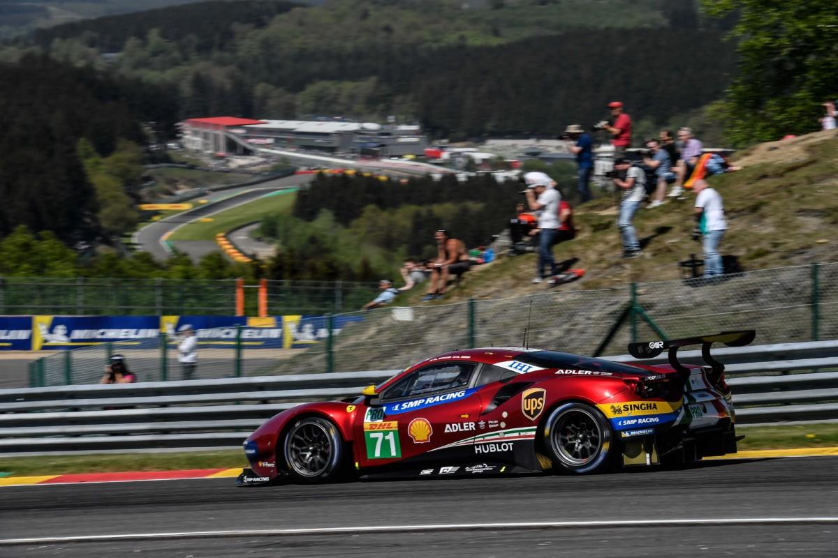 WEC: Rigon e Bird terzi a Spa-Francorchamps