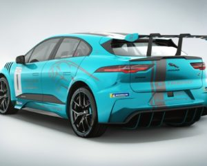 Agag al volante della Jaguar I-PACE eTROPHY