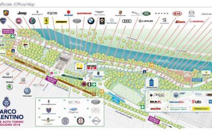 Parco Valentino 2018: la mappa del Salone