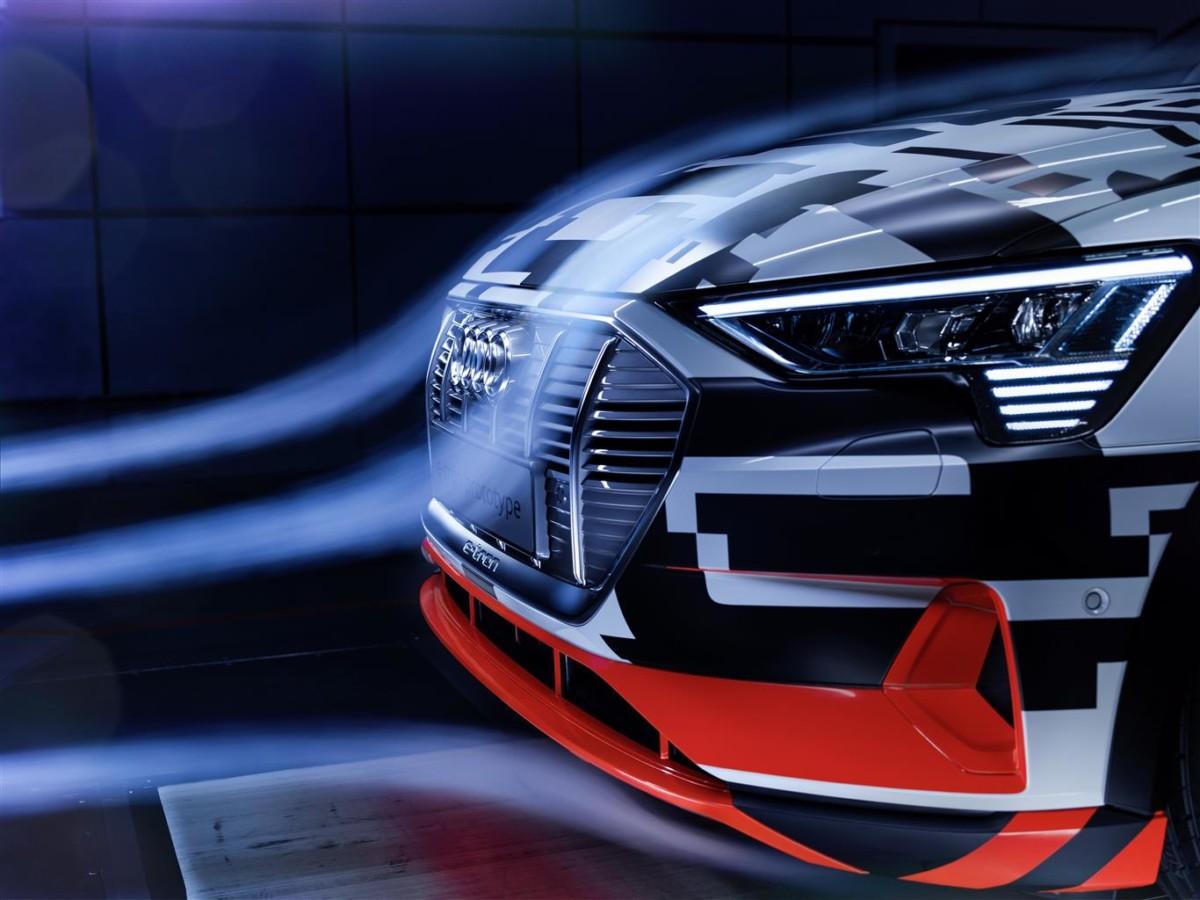 L'aerodinamica di Audi e-tron Prototipo