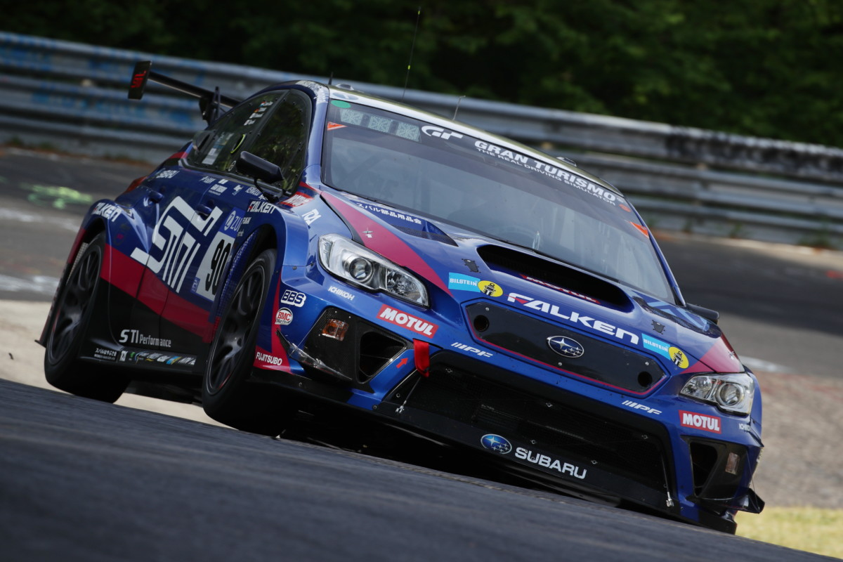 Subaru WRX STI vince per la quinta volta al Nurburgring