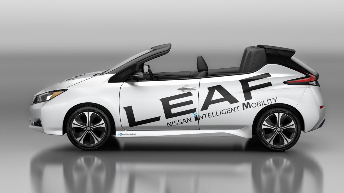 Nissan LEAF Open Car: cabrio a emissioni zero