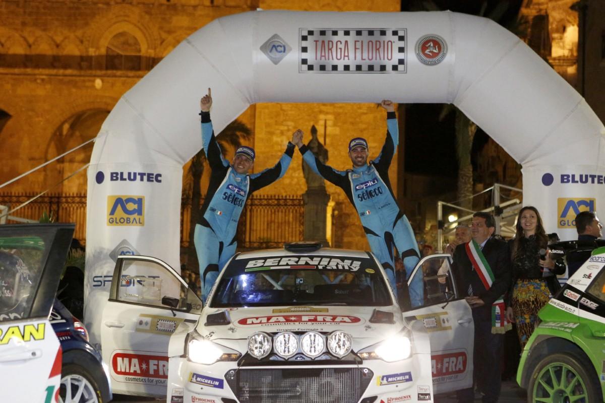 CIR: Nucita e Vozzo su Hyundai vincono la 102° Targa Florio