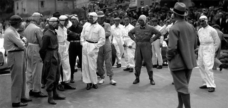 GP Montecarlo 1935: Noghès, Ferrari e i primi caschi colorati