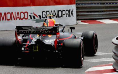 Monaco: FP3 ancora Red Bull e Ferrari. Botto Verstappen