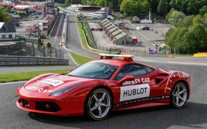 P Zero Color Edition in pista al Ferrari Challenge
