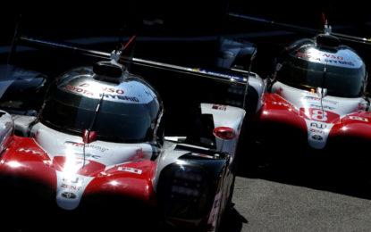 WEC: a Spa Toyota in pole, prima la #7 poi la #8 di Alonso