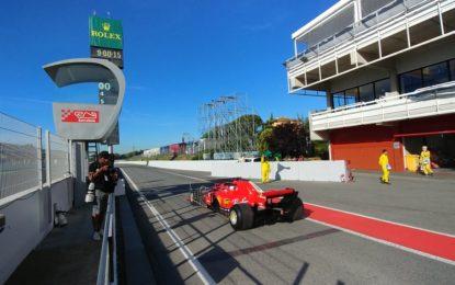 Di nuovo in pista a Barcellona per i test
