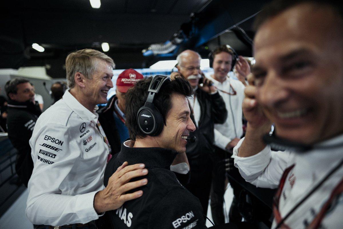 Wolff sulle voci del complotto Pirelli-Mercedes