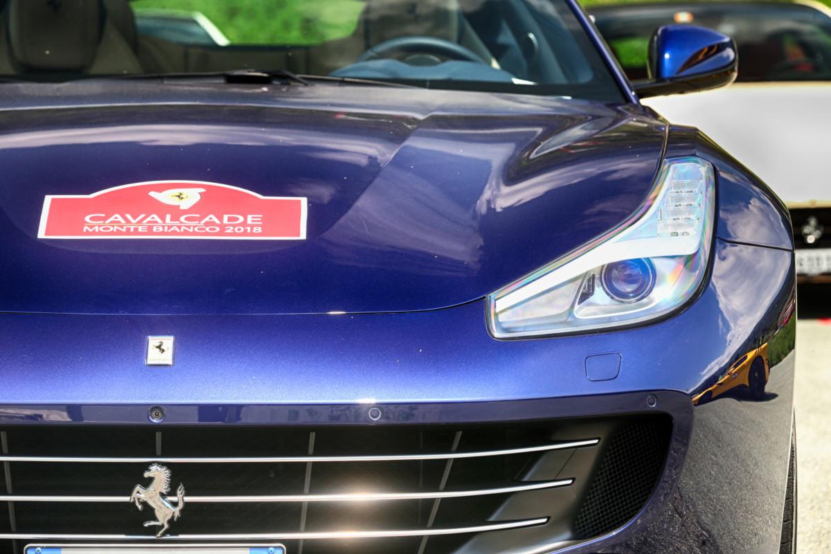 La Ferrari Cavalcade 2018 sul Monte Bianco!