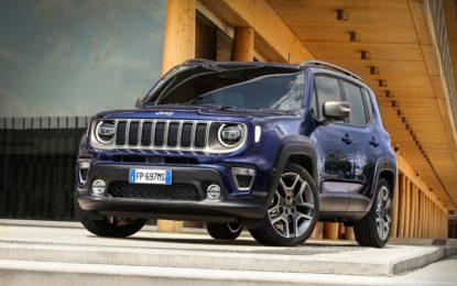 Jeep Renegade premiata per la sicurezza