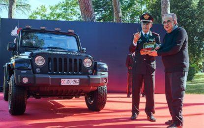 La Jeep Wrangler per l'Arma dei Carabinieri