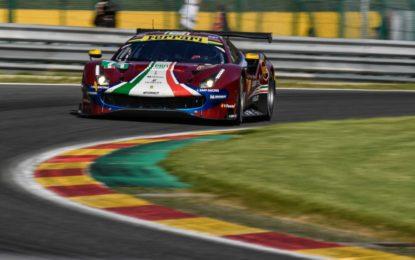 WEC: il bilancio Ferrari nei test di Le Mans