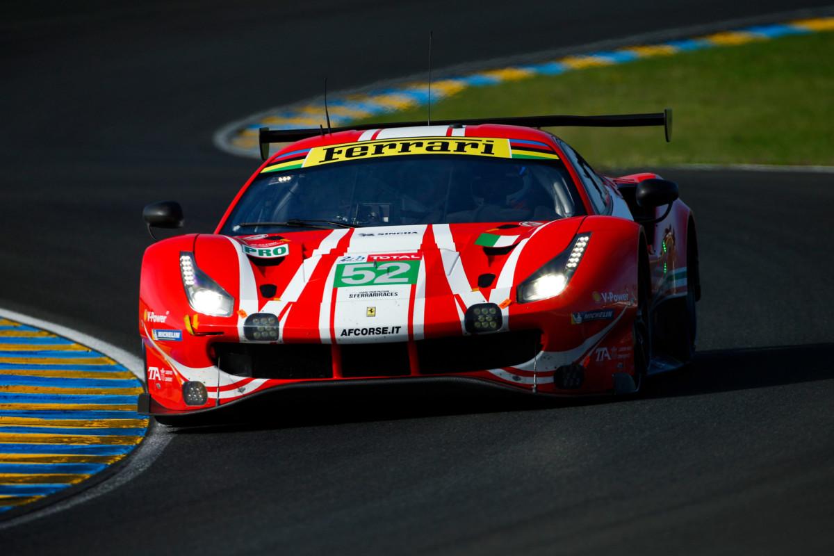 Il punto Ferrari nel mattino di Le Mans
