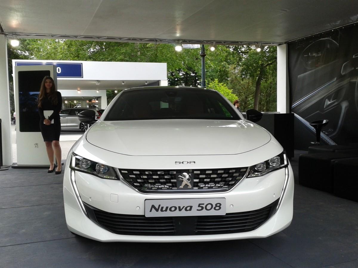 Peugeot Nuova 508: la gamma per l'Italia