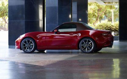 Mazda MX-5 2019: maggiore potenza, più piacere
