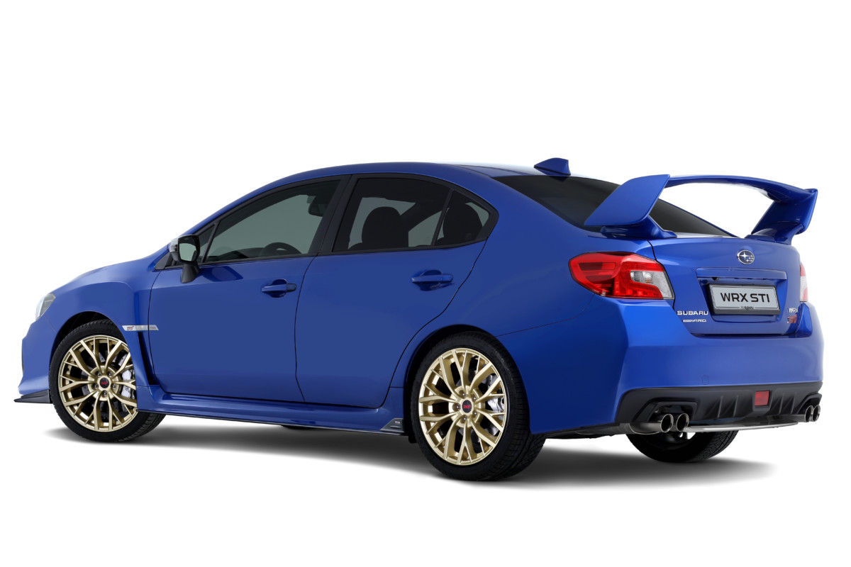 Subaru WRX STI Legendary Edition: 55 esemplari numerati