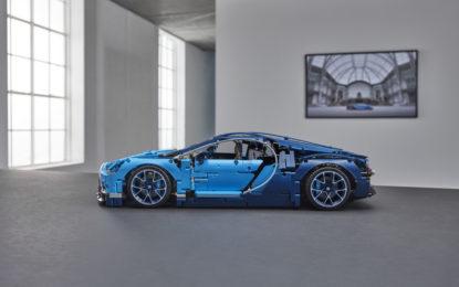 Nuova Bugatti Chiron LEGO TECHNIC