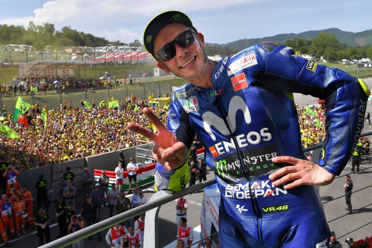 Rossi: un bel podio, ma bisogna migliorare la moto
