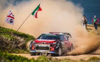 Punti importanti per Citroën al Rally Italia Sardegna