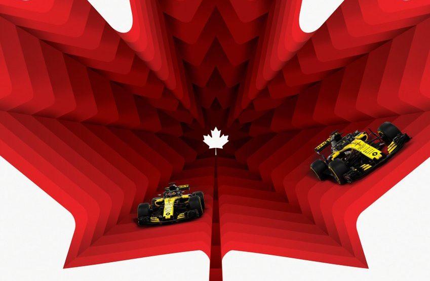Specchietti sull'Halo per la Renault in Canada
