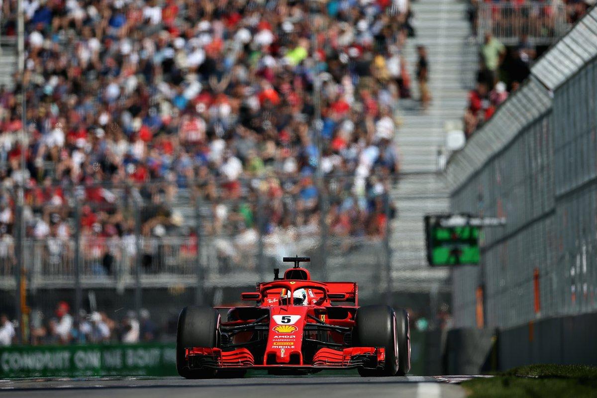 Canada: Vettel riporta la Ferrari in pole dopo 17 anni!