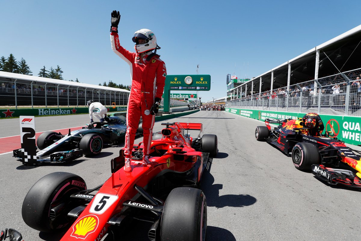 Canada: per la Ferrari e Vettel una pole speciale per Gilles