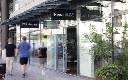 Concept store Renault 100% elettrico a Berlino