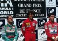 Leyton House oltre il GP di Francia 1990